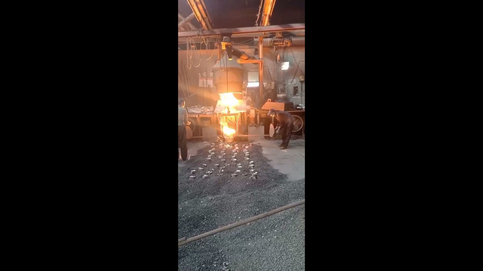 Ground Engaging Bucket Teeth Casting Process